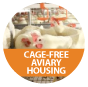 CAGE FREE AVIARY VIDEO